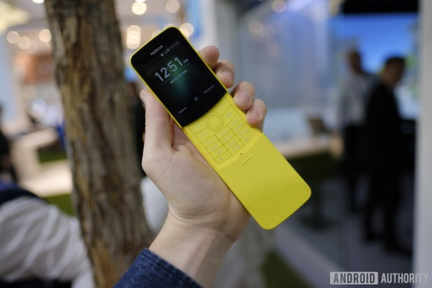 WhatsApp has finally arrived on the Nokia 8110 4G.