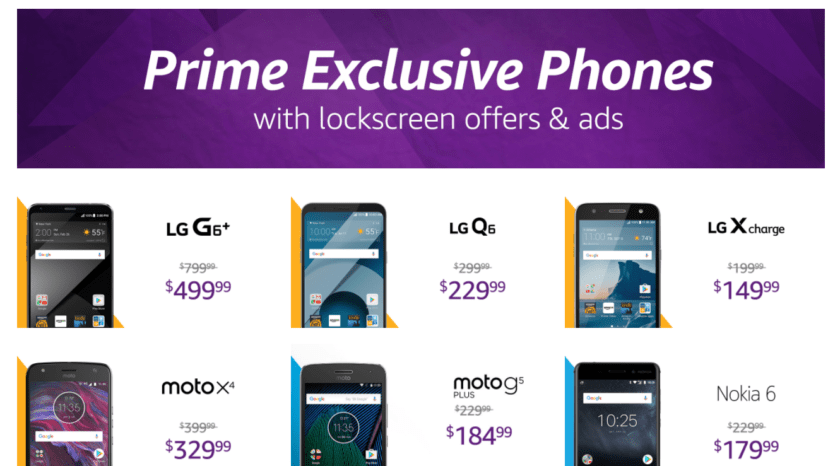 Prime Exclusive Phones  Amazon offers gift cards to those who paid to remove Prime Exclusive ads Prime Exclusive Phones