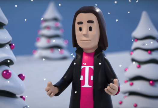 t-mobile holiday ad john legere