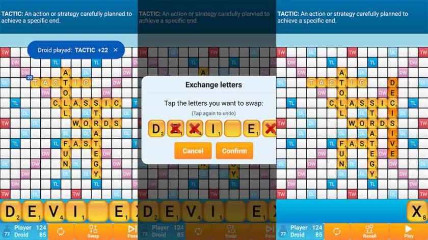 Words Classic Solo - best scrabble games and scrabble apps for android