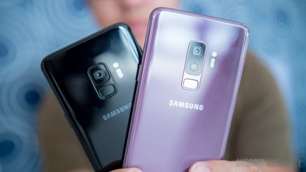 Samsung Galaxy S9 and S9 Plus.