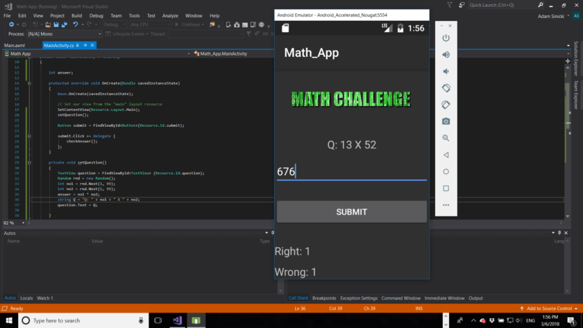 Finished-Xamarin-Project-840x473 How to make an Android app with Xamarin Android