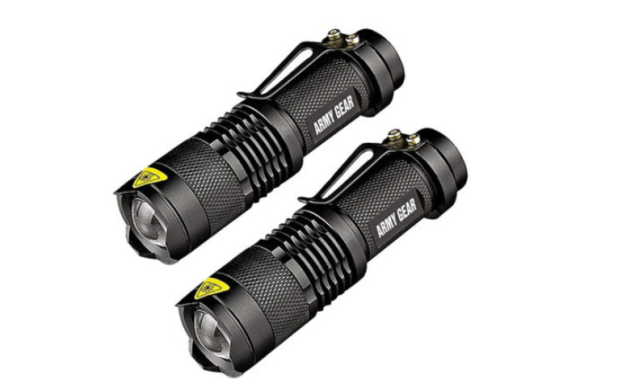 UltraBright Tactical Military Flashlight