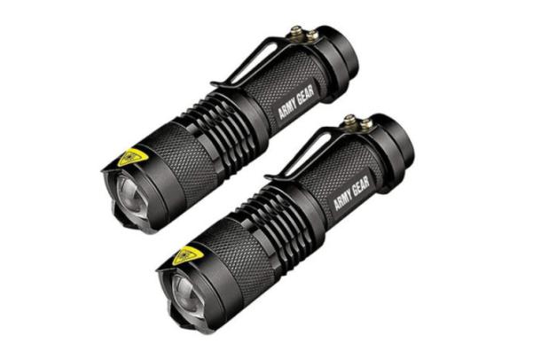 UltraBright Tactical Military Flashlight