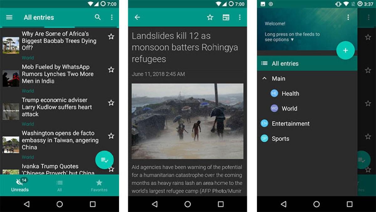 Flym - best offline apps