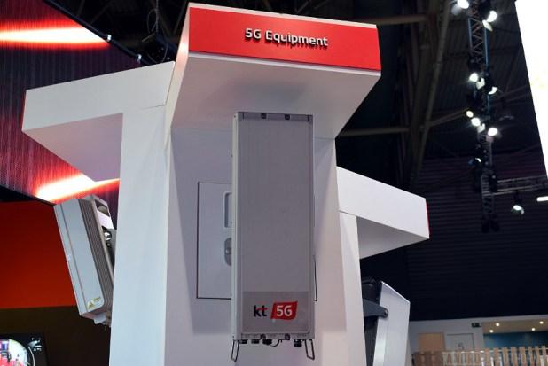 KT Telecom 5G radio equipment