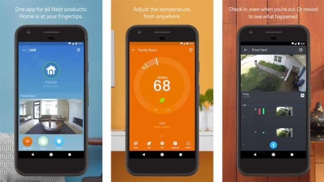 Hardware home security apps