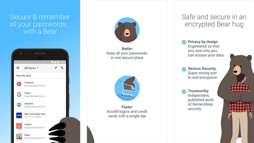 "RememBear - best password management apps for Android ""width ="" 840 ""height ="" 472 ""class ="" aligncenter size-large wp-image-846500 ""srcset ="" https://cdn57.androidauthority.net/wp-content/uploads /2018/03/RememBear-screenshot-840x472.jpg 840w, https://cdn57.androidauthority.net/wp-content/uploads/2018/03/RememBear-screenshot-300x170.jpg 300w, https: //cdn57.androidauthority .net / wp-content / uploads / 2018/03 / RememBear-screenshot-768x431.jpg 768w, https://cdn57.androidauthority.net/wp-content/uploads/2018/03/RememBear-screenshot-16x9.jpg 16w , https://cdn57.androidauthority.net/wp-content/uploads/2018/03/RememBear-screenshot-32x18.jpg 32w, https://cdn57.androidauthority.net/wp-content/uploads/2018/03/ RememBear-screenshot-28x16.jpg 28w, https://cdn57.androidauthority.net/wp-content/uploads/2018/03/RememBear-screenshot-56x31.jpg 56w, https://cdn57.androidauthority.net/wp- content / uploads / 2018/03 / RememBear-screenshot-64x36.jpg 64w, https://cdn57.androidauthority.net/wp-content/u ploads / 2018/03 / RememBear-screen enshot-712x400.jpg 712w, https://cdn57.androidauthority.net/wp-content/uploads/2018/03/RememBear-screenshot-1000x562.jpg 1000w, https: // cdn57 .androidauthority.net / wp-content / uploads / 2018/03 / RememBear-screenshot-792x446.jpg 792w, https://cdn57.androidauthority.net/wp-content/uploads/2018/03/RememBear-screenshot-770x433. jpg 770w, https: // cdn57. androidauthority.net/wp-content/uploads/2018/03/RememBear-screenshot-356x200.jpg 356w, https://cdn57.androidauthority.net/wp-content/uploads/2018/03/RememBear-screenshot.jpg 1024w "" sizes = ""(max-width: 840px) 100vw, 840px"