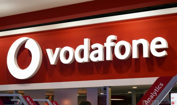 Vodafone store sign - Vodafone UK network review