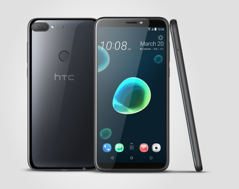 Photo of the black HTC Desire 12 Plus - Best budget HTC phone