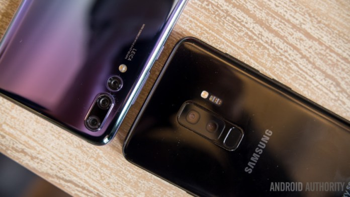 best Father's day tech gifts - Huawei P20 Pro and Samsung Galaxy S9 Plus