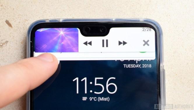 Huawei P20 Notch Reveal