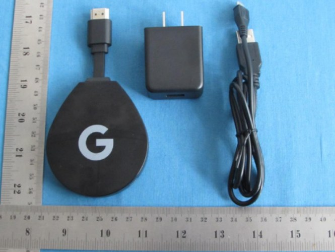 A Google-branded Android TV Stick.