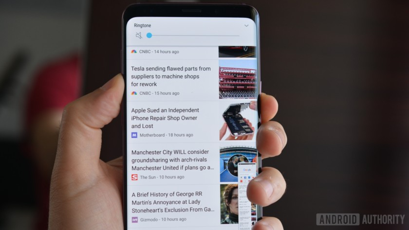 how to take screenshot galaxy s9 plus