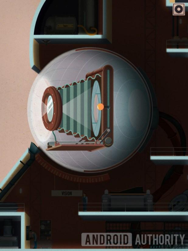 homo machina eye camera