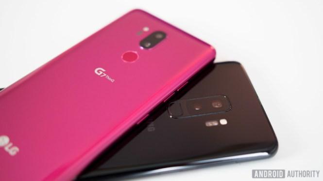 LG G7 vs Samsung Galaxy S9 Plus
