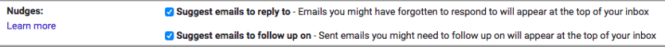 gmail nudges