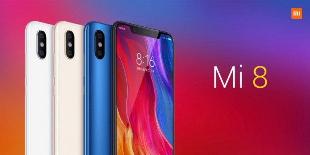The Xiaomi Mi 8.