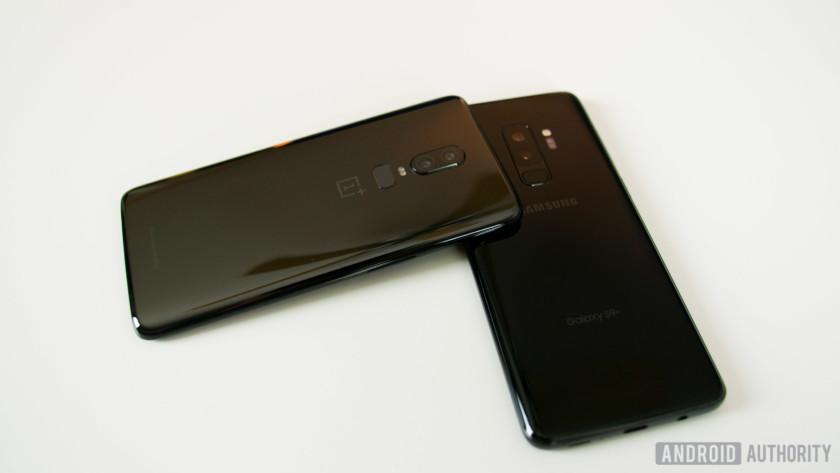 OnePlus 6 vs Samsung Galaxy S9