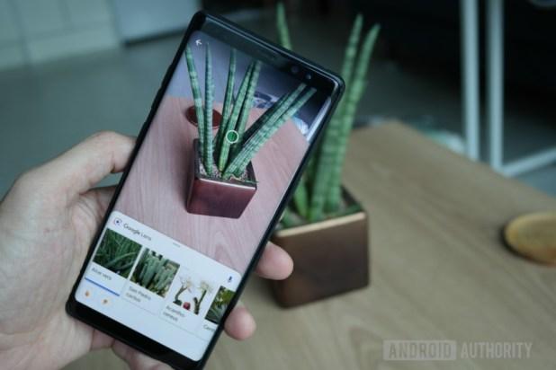 Samsung Galaxy Note 8 Google Lens