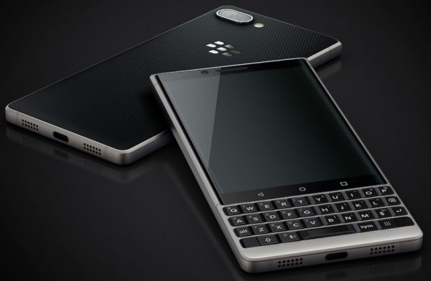 A purportedly leaked BlackBerry Key2 render.