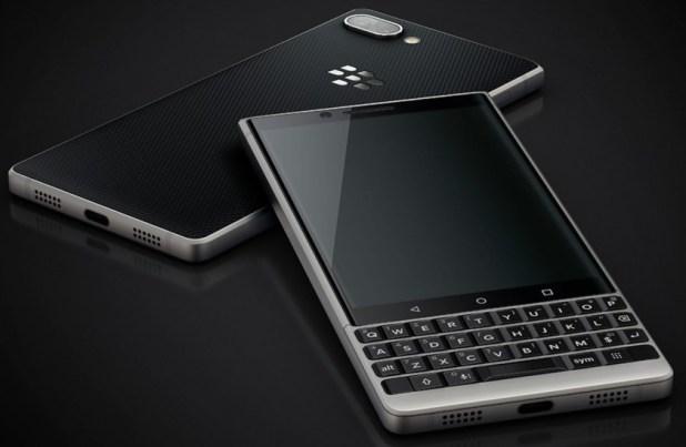 A purportedly leaked BlackBerry Key2 render.