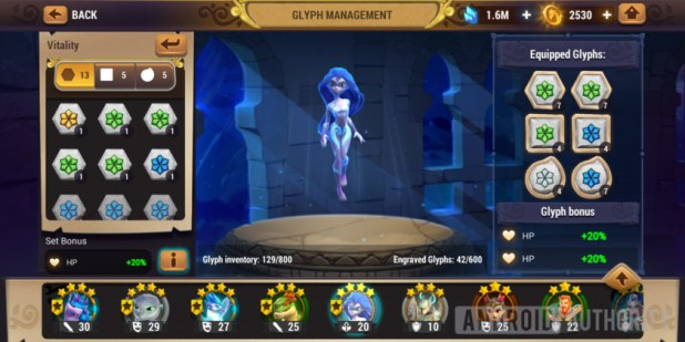 might & magic elemental guardians vitality glyphs water nymph