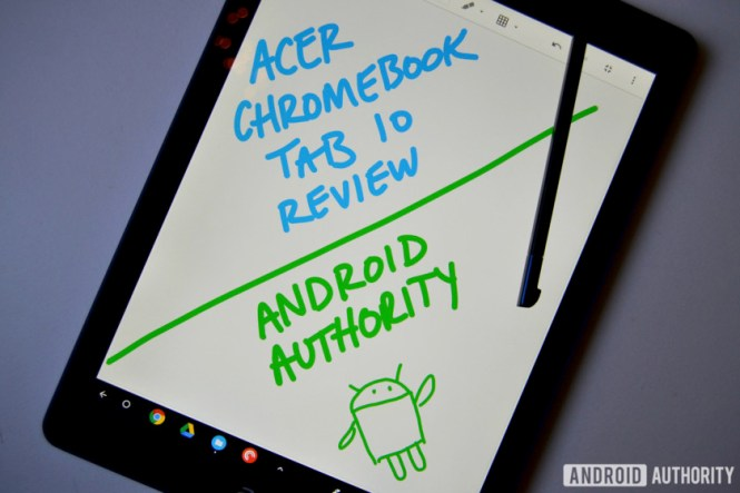 chromebook tab 10 review display