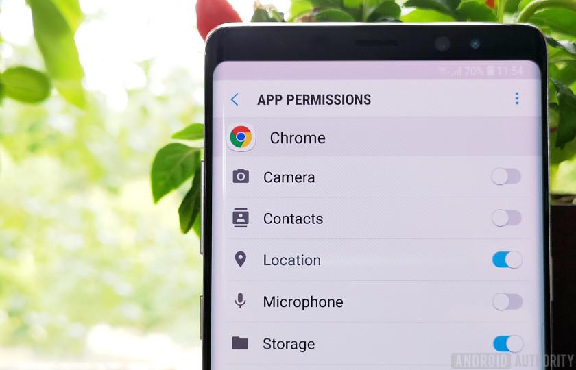 list of chrome app permissions