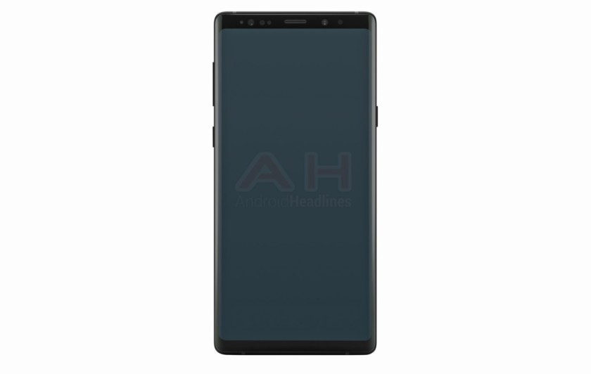 A claimed Galaxy Note 9 render.