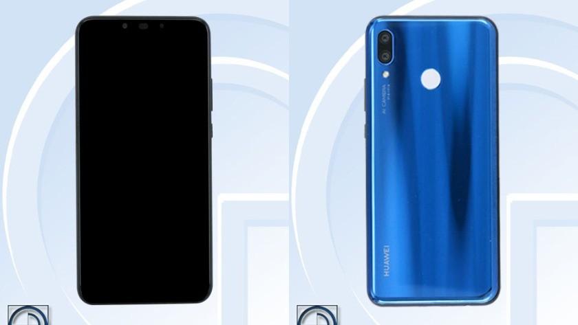 Huawei Nova 3 TENAA renders