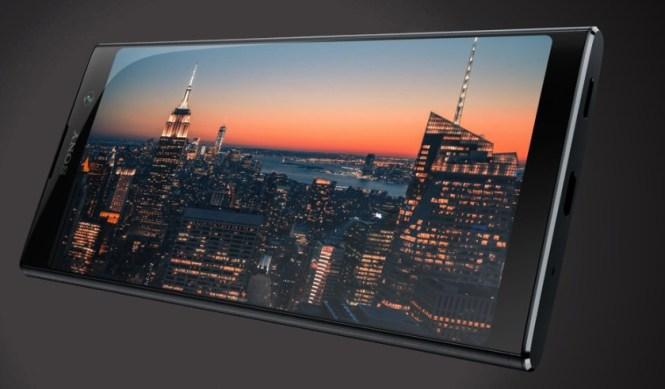 The Sony Xperia XA2 Plus.