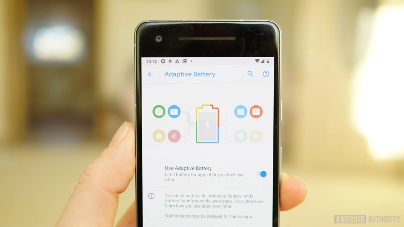 Обзор Android 9 Pie Adaptive Battery