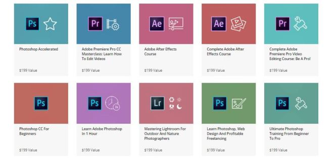 Complete Adobe Mastery Bundle