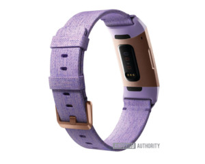 fitbit charge 3 fitness tracker heart rate sensor