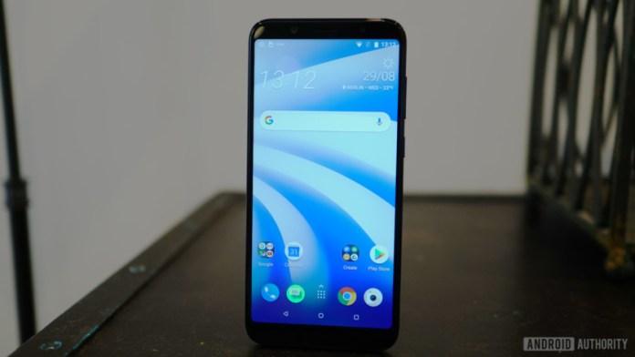 HTC U12 Life home screen light Sense Android 8.1 Oreo