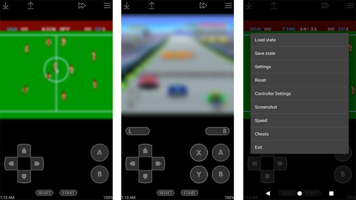John NESS - один из лучших эмуляторов SNES для Android