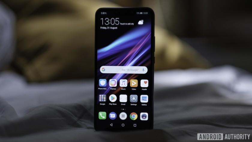 Huawei Mate 20 Lite front facing cameras