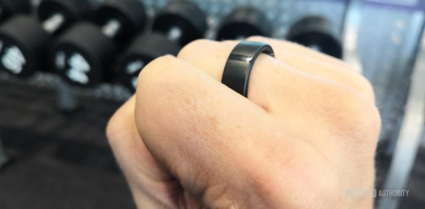 Motiv Ring in gym, Motiv Ring review