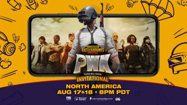 PUBG Mobile PWK Invitational Banner Featured