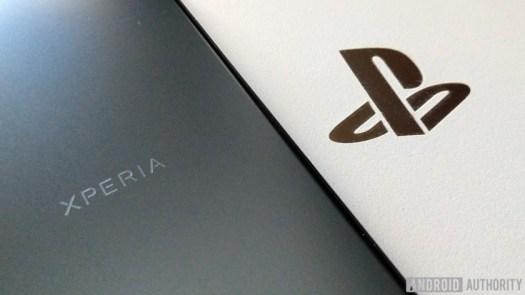 Sony Xperia PS4 logo PlayStation Phone