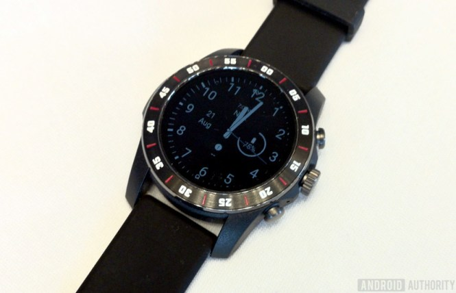 Qualcomm Snapdragon Wear 3100 prototype watch