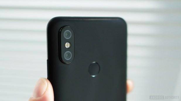 Xiaomi Mi A2 camera detail
