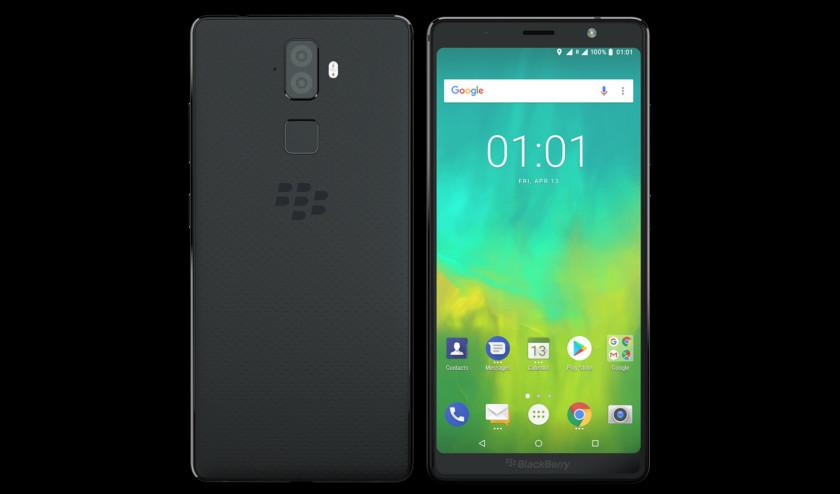 The BlackBerry Evolve.