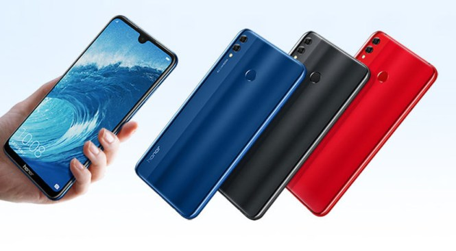 The Honor 8X Max on JD's website.