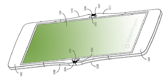 The foldable phone design by Motorola.