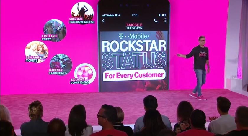 T-Mobile LiveNation partnership