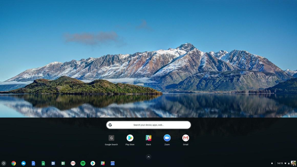 Как получить доступ к скриншоту Chromebook