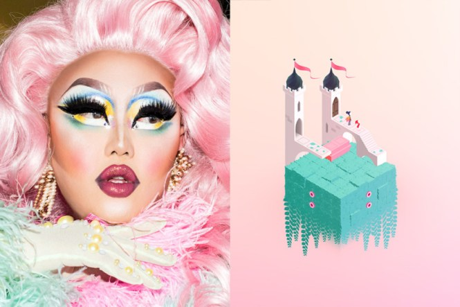 Milanote Monument Valley Inspiration RuPaul Drag Race