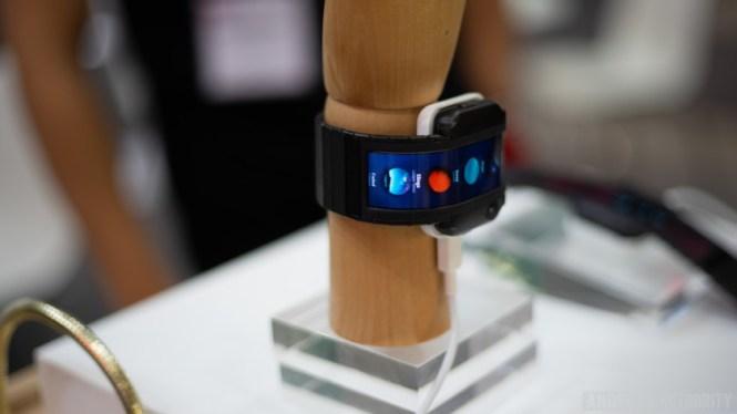 Nubia Alpha smartwatch shown at IFA 2018